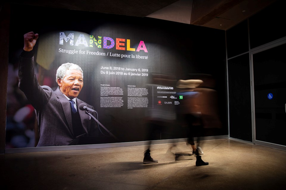 Nelson Mandela exhibit