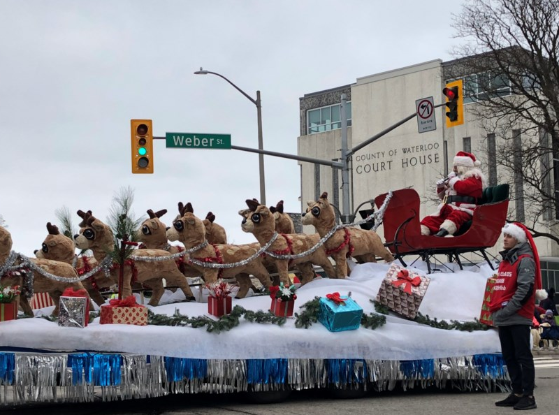 Santa Claus parade to be held on new route