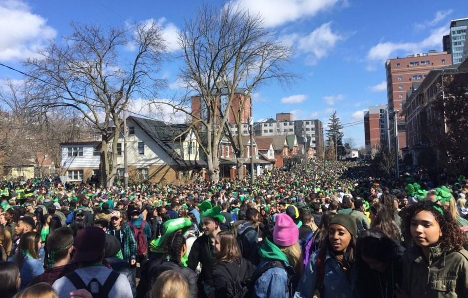 St. Patrick's Day Ezra Ave 2018