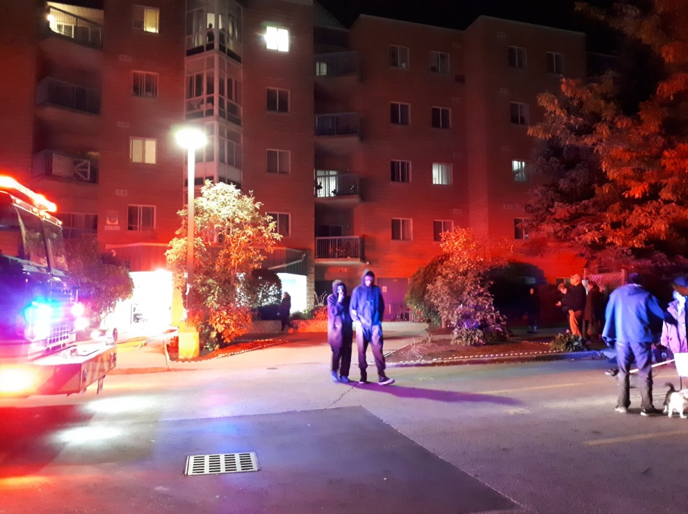 One injured, one arrested after Waterloo apartment fire