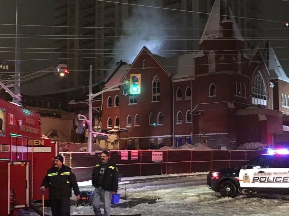 Trinity fire Nov. 16 2018