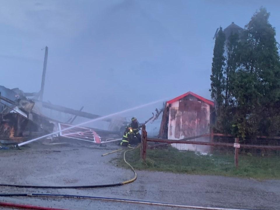 woodstock fairgrounds fire
