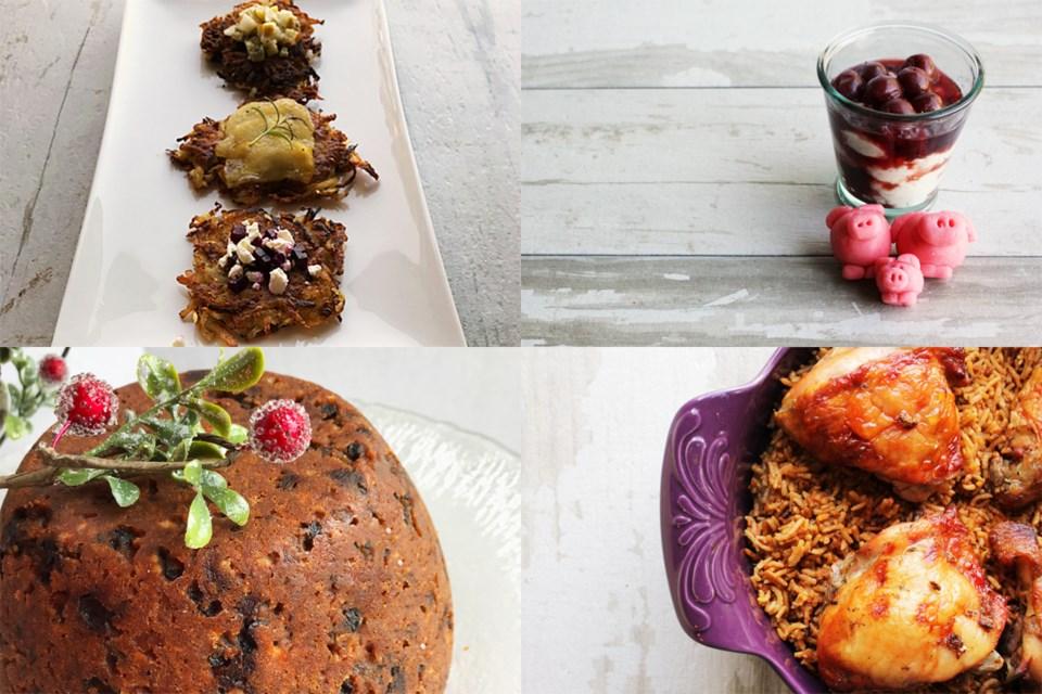 Kitchener Today - JMangalaseril - Latkes-Risalamande-Pudding-Jollof