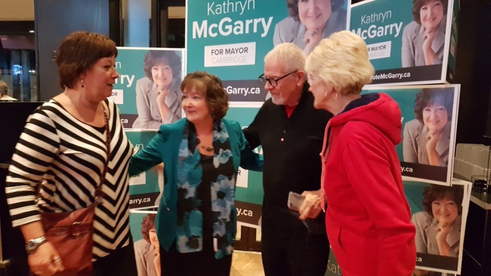 Kathryn McGarry election 2018