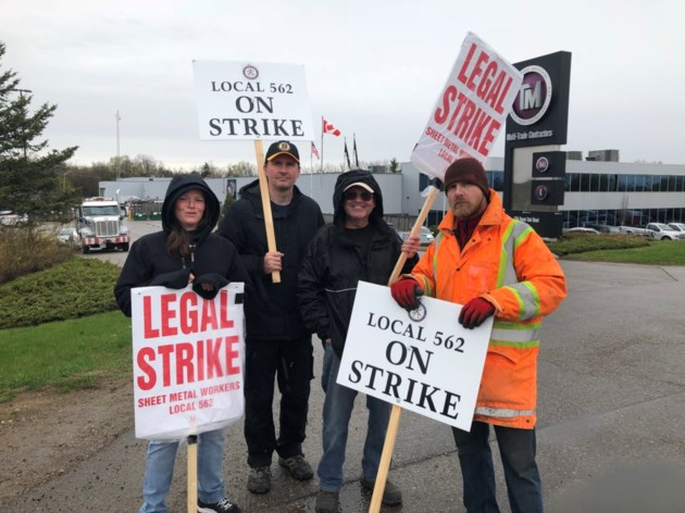 Sheet Metal Workers Are Out On Strike Kitchenertoday Com
