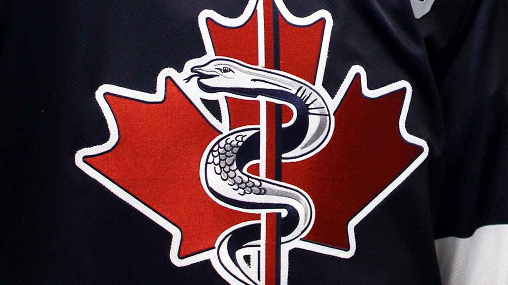 A look at the jersey the Rangers will wear in their Remembrance Day game