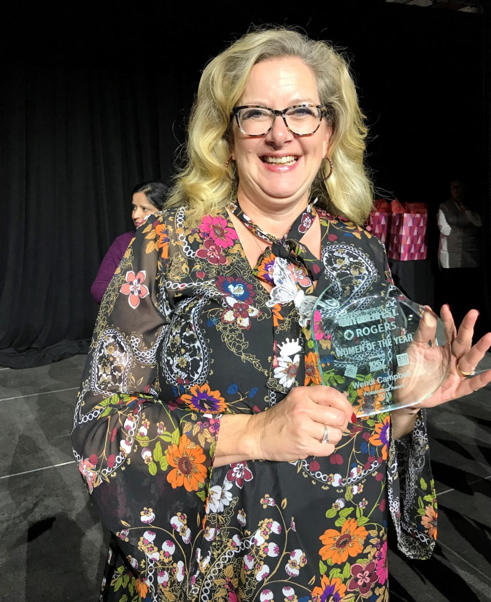 Wendi Campbell woman of the year