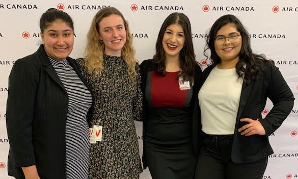 Female Aviation Students From Waterloo Region Receive Captain Judy Cameron Scholarships Kitchenertoday Com