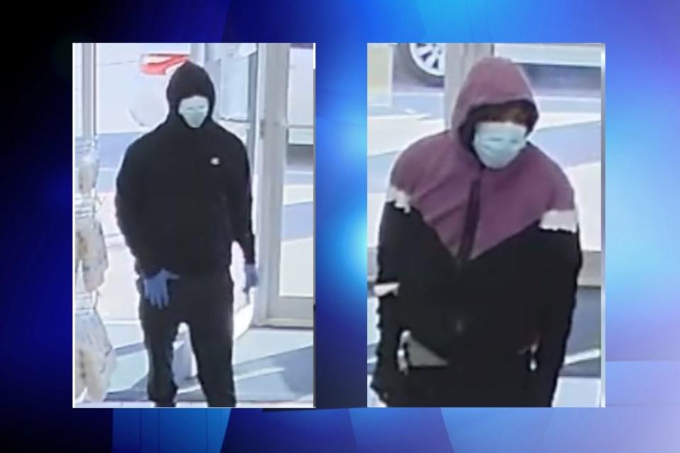 Suspect #1 and suspect #2 / Peel Regional Police