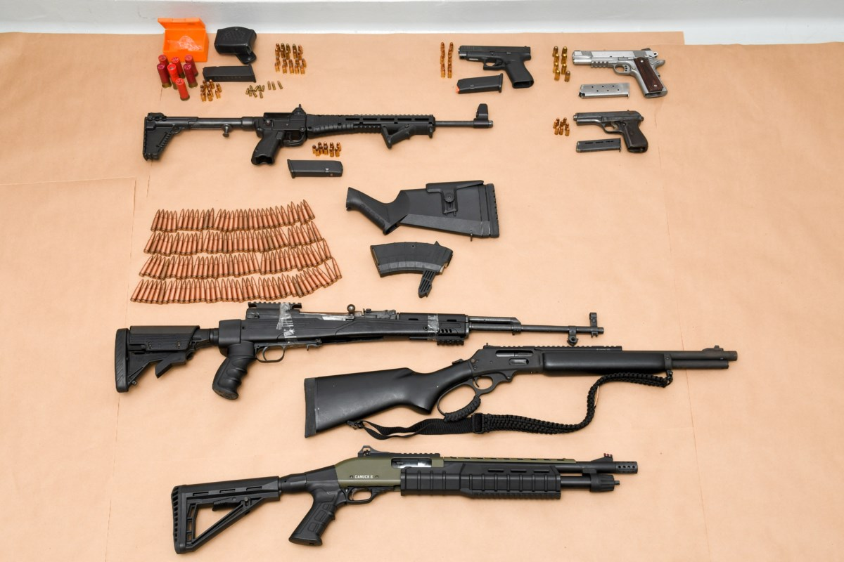 14 arrested, drugs and weapons seized as part of six-month joint investigation
