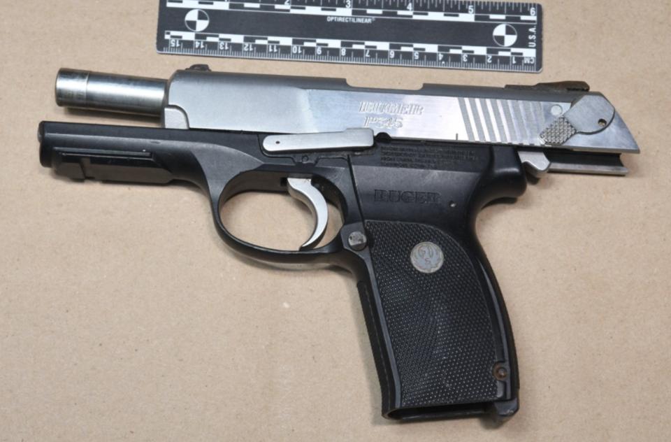 Handgun found in park June 10 2021