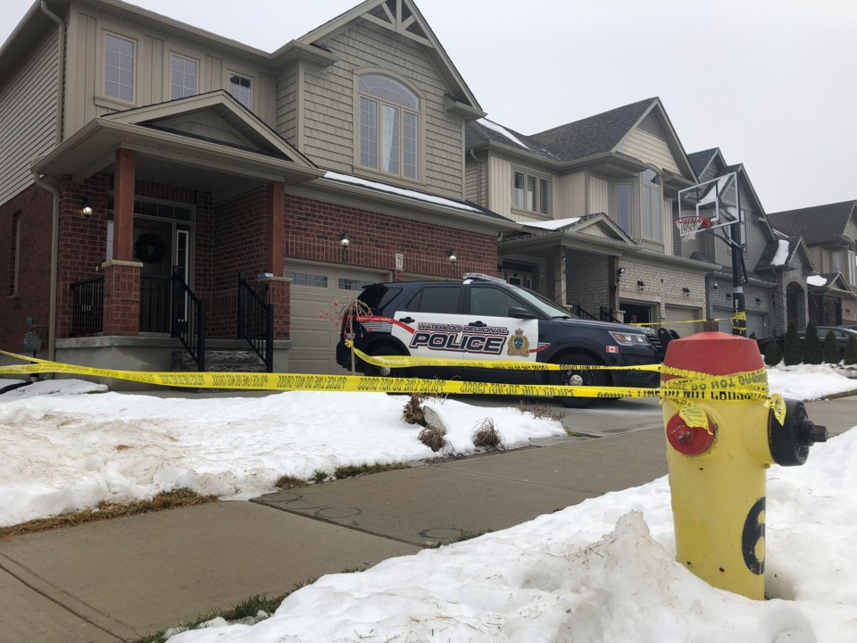 Homicide at Marianne Dorn Trail in Kitchener