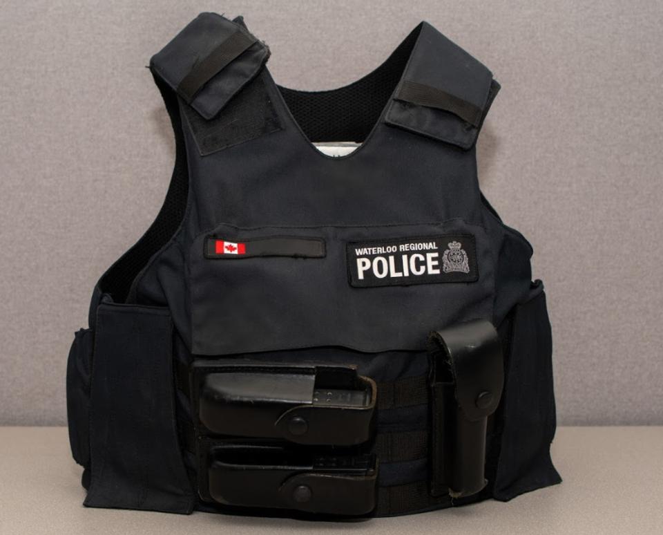 Police vest July 23 2020