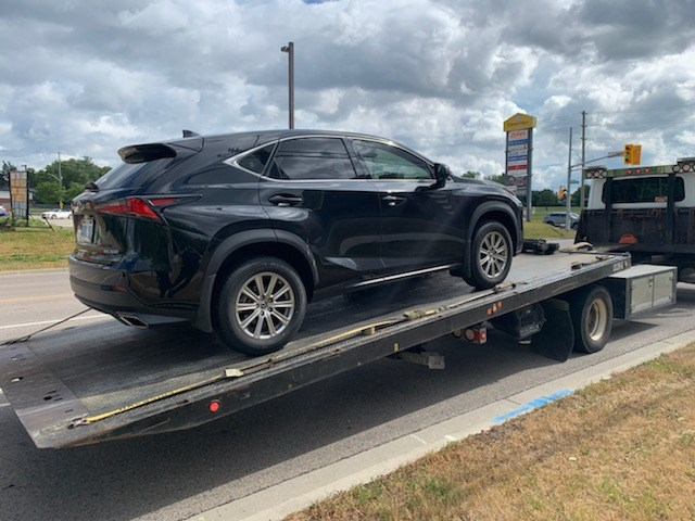 Photo of the impounded vehicle from @WRPS_Traffic on Twitter.