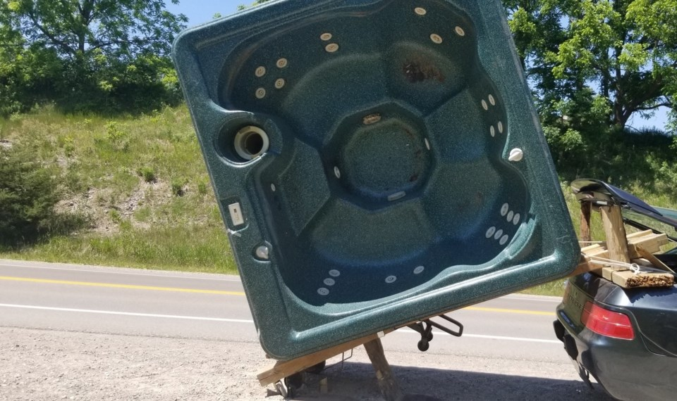 Unsafe load woodstock (June 17, 2020)