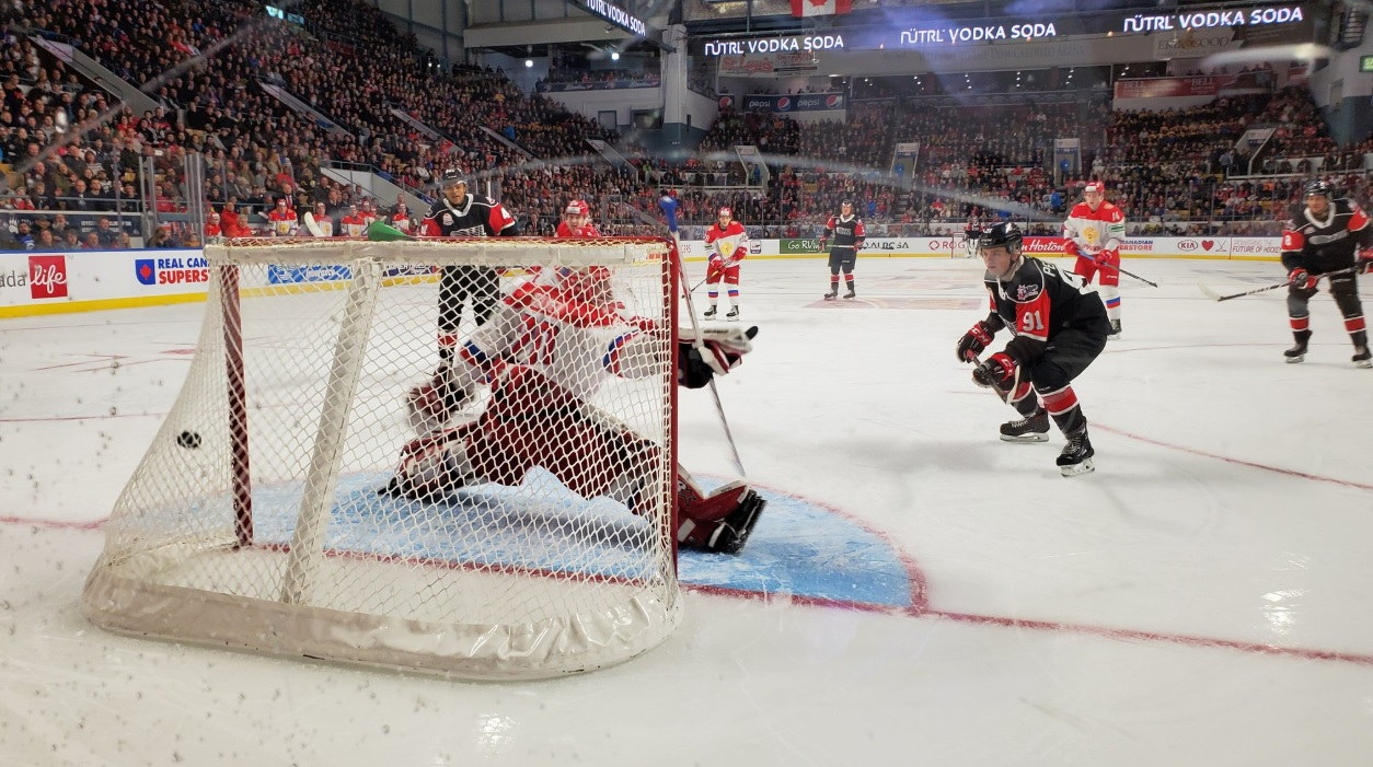 Defense solid in Team OHL win over Russia in Kitchener