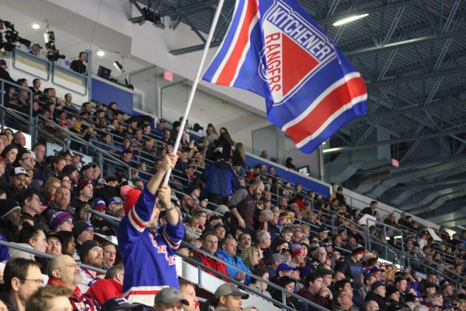 flag fan