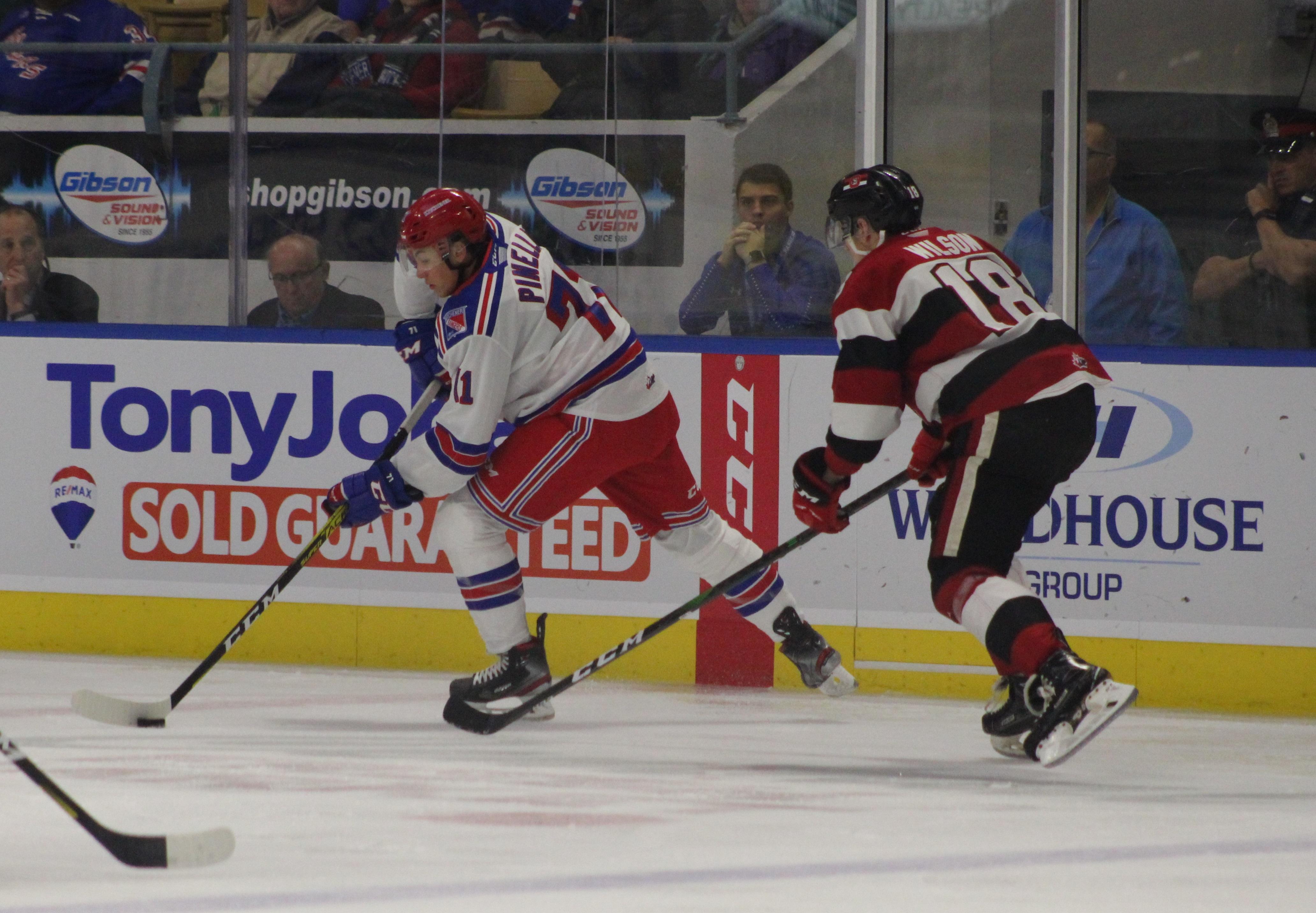 Rangers' Pinelli to represent Canada at World Under-17 Hockey Challenge