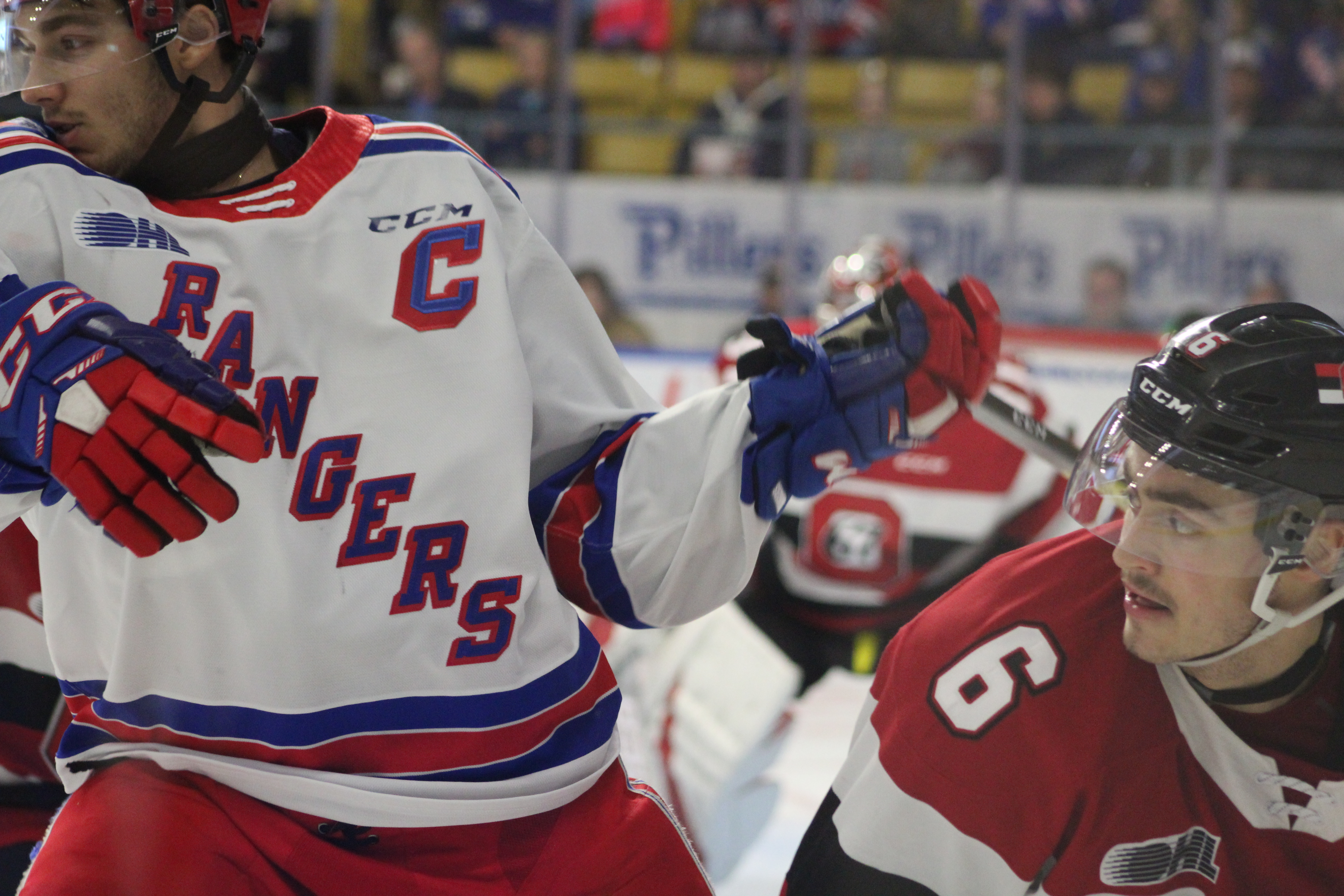 Rangers remain undefeated on home ice