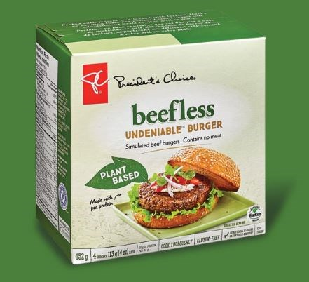 PC Beefless Undeniable Burgers