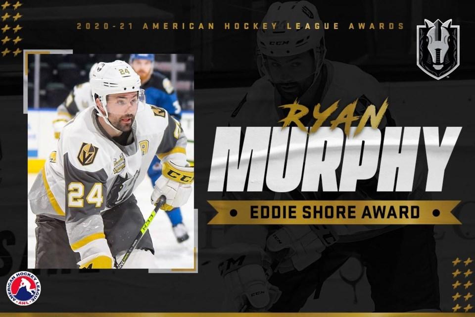 Murphy Eddie Shore Award