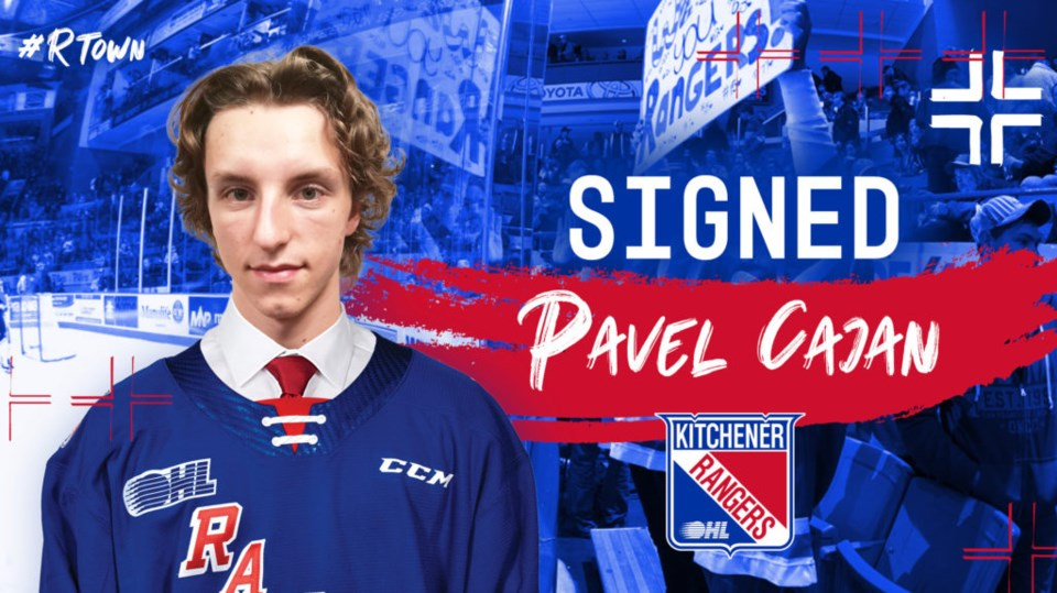 Pavel Cajan signed