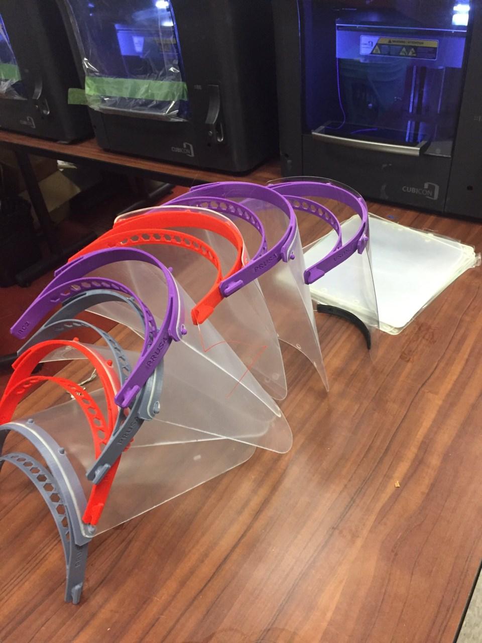 plastic faceshields