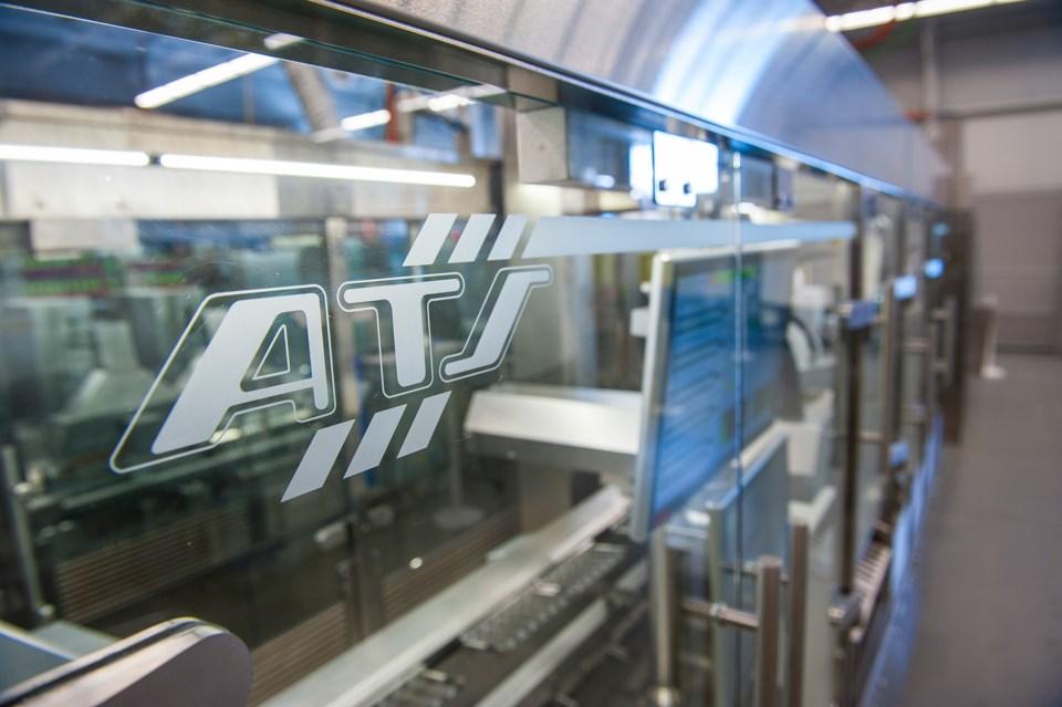 ATS Automation - Factory Floor Machine Logo