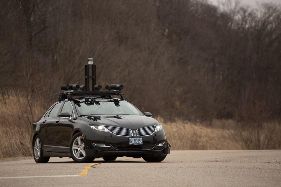 UW's autonomous vehicle