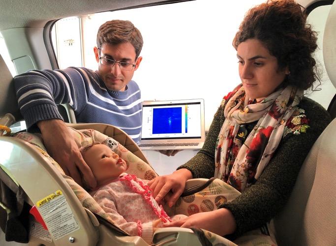 UW invents sensor to save children and pets left in vehicles