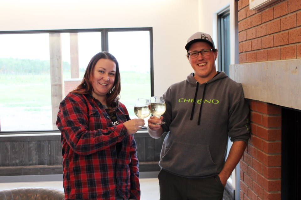 A group of four friends came together to open Journey North Cider Co., a Bonnyville-based orchard offering cider.