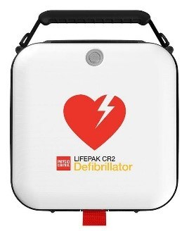 An AED defibrilator device.