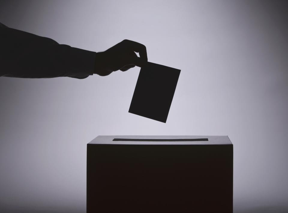 ballot box shadow