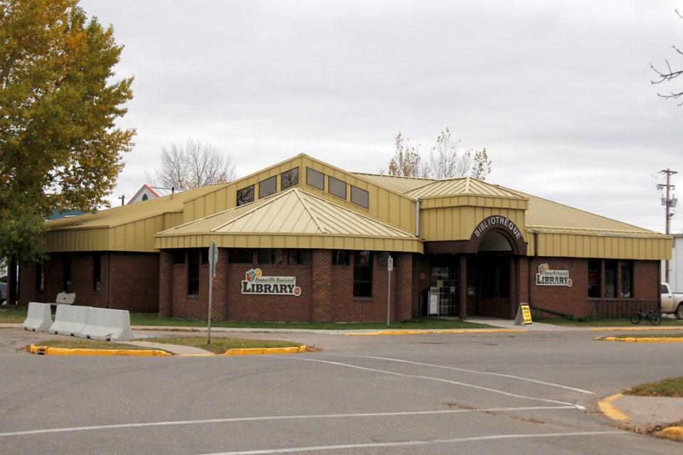 Bonnyville Library web