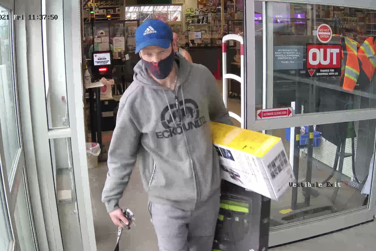 Cold Lake RCMP investigate theft from Canadian Tire