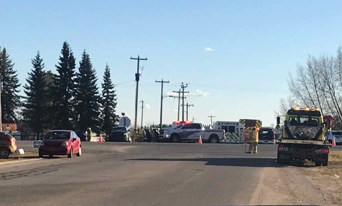 Accident on Highway 28 between Fort Kent and the Town of Bonnyville