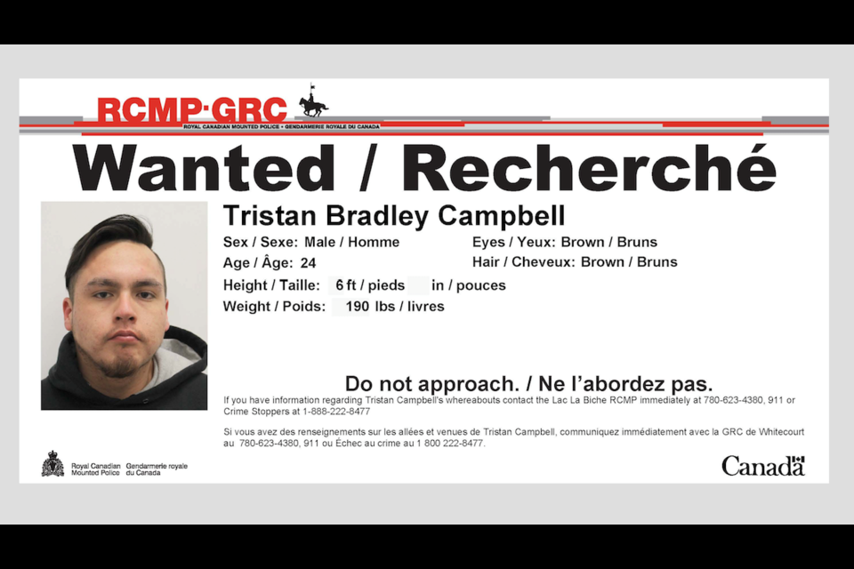 RCMP in Lac La Biche have located a man wanted in relation to an investigation into shots fired in a local residential area.