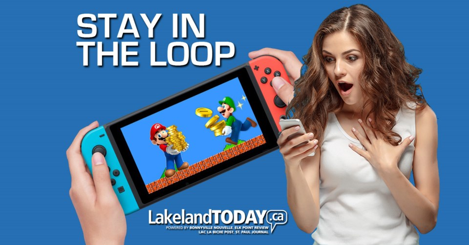 Stay In The Loop Main image with Switch