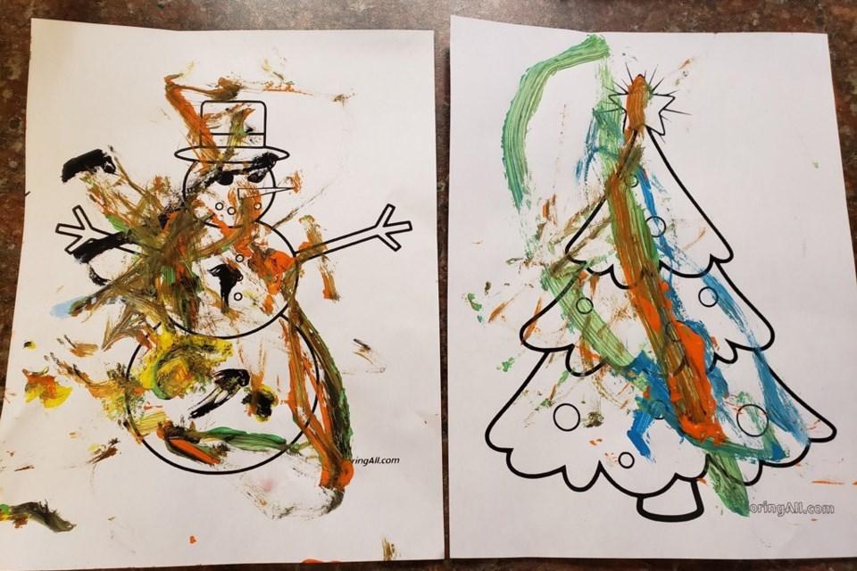 Daycare art