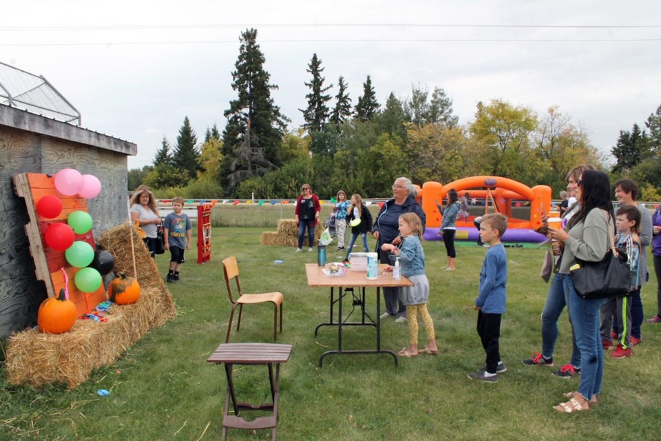 The Fall Fair at Franchere offered a great variety of outdoor activities for people of all ages to enjoy on Saturday.   Photos by Vicki Brooker