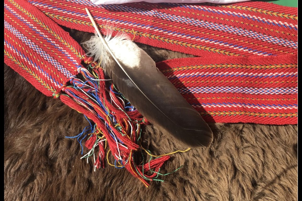 The traditional eagle feather is part of the customs and traditions of the Indigenous culture that wll be expanded at Portage College with the creation of a new smudging room.