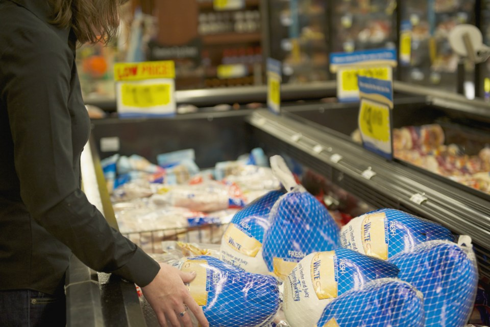 A local grocer says big turkeys were difficult to order this year.