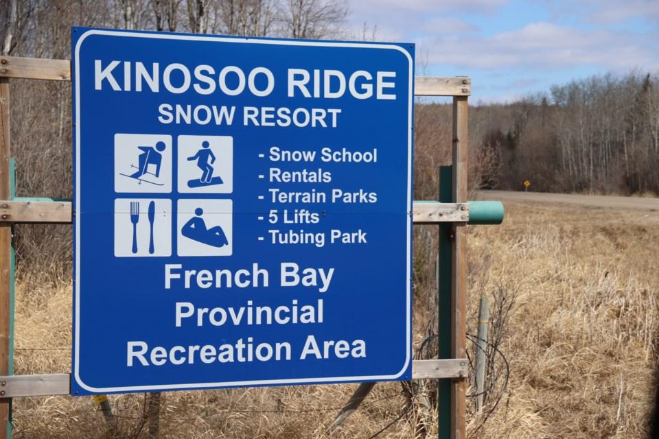 Kinosoo ridge sign