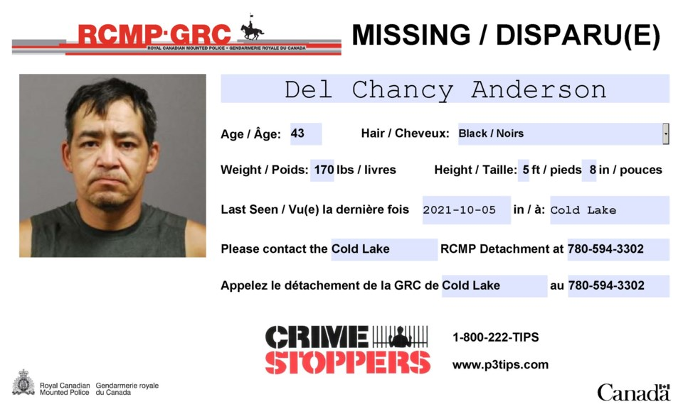 Missing Poster - Anderson