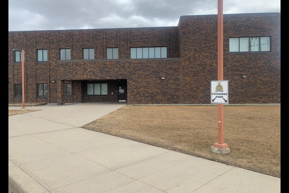 RCMP in Edson have created a safe place for online transactions to be held. The Exchange Zone is something that other detachments across the province could pursue.   Image RCMP