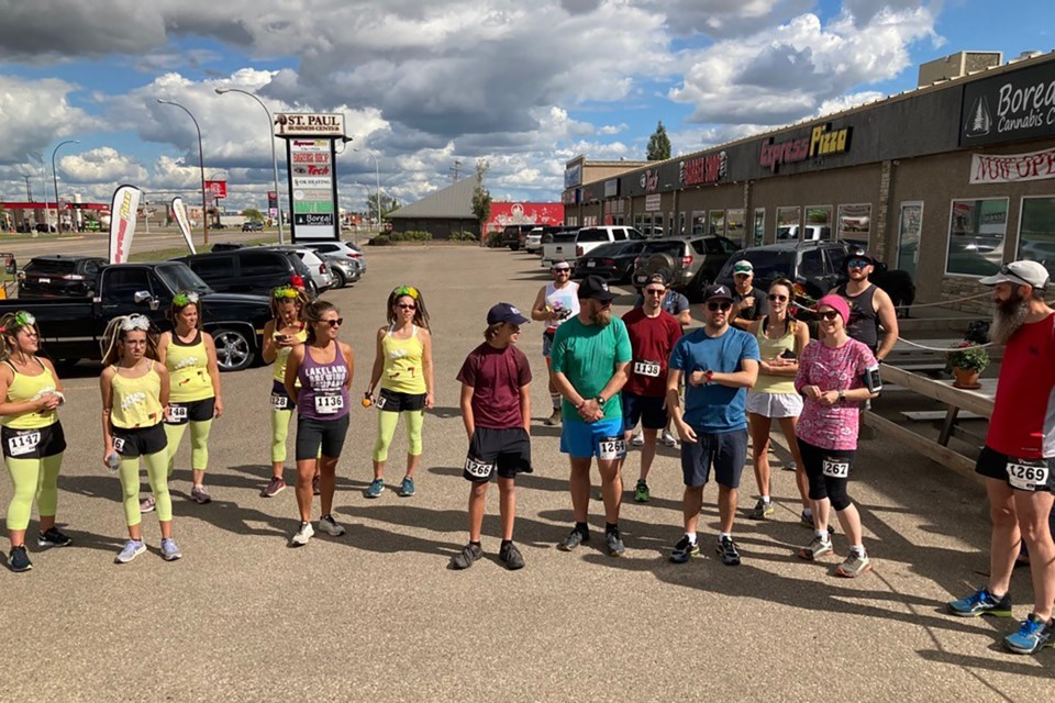The Brews for Books 5km Beer Run took place on Aug. 28.
