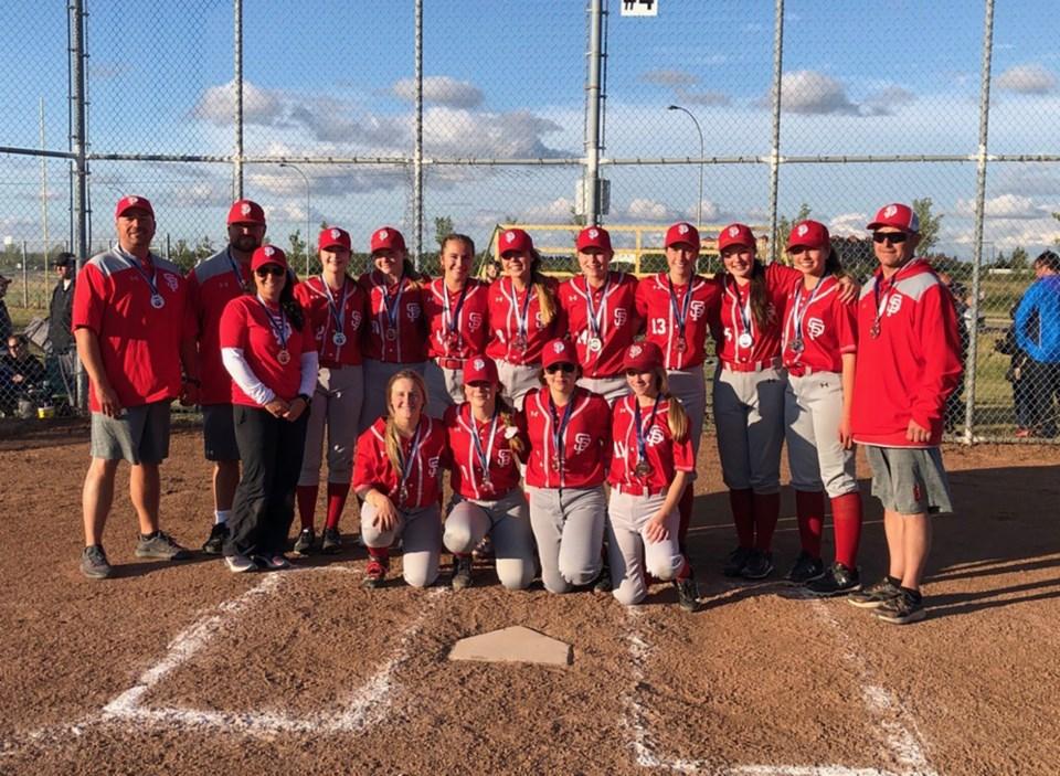 U16 girls softball provincials