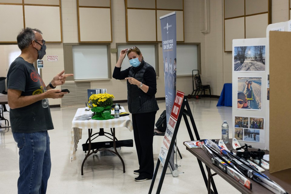 Community Awareness Night took place on Sept. 22 at the St. Paul Rec. Centre. Janice Huser photo.