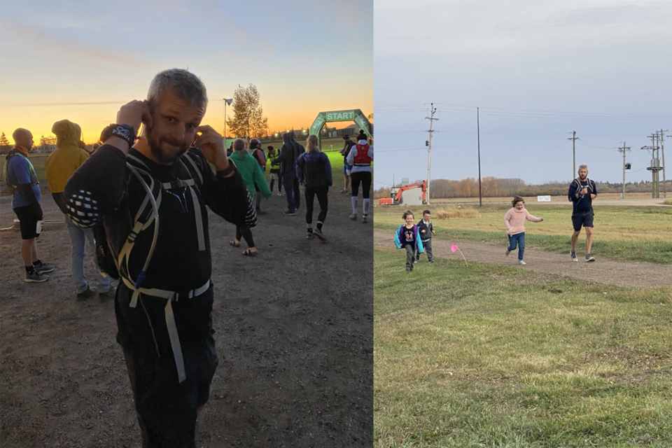 Jocelyn Cote tackled the 100 km Iron Horse Ultra between Oct. 2 and 3.