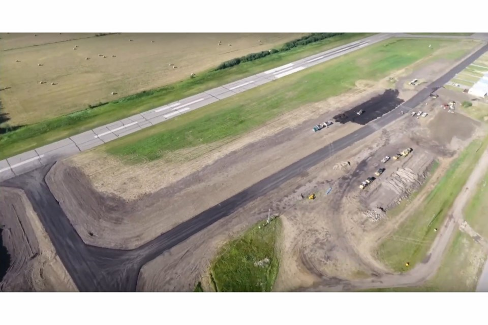 webMD Bonnyville Airport Construction